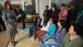 The First Lady surprises Asomugha College Tour for Scholars high school students