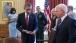 President Obama Holds Chaplain Emil Kapaun's Easter Stole