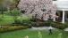 President Obama walks across the Rose Garden