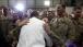 President Barack Obama Greets U.S. Troops