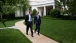 President Obama Walks with Education Secretary Duncan