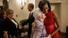 President Barack Obama And First Lady Michelle Obama Greet Family Of Specialist Leslie H. Sabo, Jr.