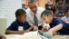 President Barack Obama Participates in a Literacy Lesson