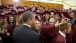 President Barack Obama Greets Graduating Joplin High School Seniors