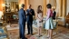 President Obama and First Lady Michelle Obama Talk with the Duke and Duchess of Cambridge