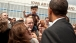 President Barack Obama Greets People In Des Moines