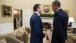 President Obama Talks With The Secretary General Of NATO