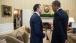 President Obama Talks With The Secretary General Of NATO