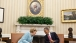 President Obama and Chancellor Merkel Talk in the Oval Office