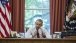 President Obama gestures during a meeting 062215