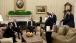President Obama And Vice President Biden Are Briefed By Senior Advisors