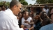 President Obama Greets Residents of Gorée Island