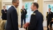 President Obama with Military Aide LTC Owen Ray