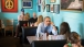 President Barack Obama dines with Kinsey Button in Austin