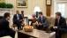 President Barack Obama Meets With Advisors