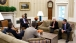President Obama Meets with Treasury Secretary Geithner in the Oval Office