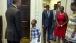 President Obama meets 4-year-old Malik Hall