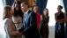 President Obama Greets Minnesota Lynx Coach Cheryl Reeve