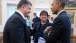 President Obama Talks with President Poroshenko