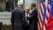 President Barack Obama talks with President Vladimir Putin of Russia