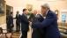 Barack Obama greets Netanyahu