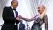 President Barack Obama joins Gwen Stefani to end the State Dinner