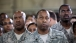 Members of the Military Listen to President Obama