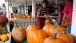 First Lady Michelle Obama Sorts Through Pumpkins