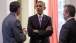 President Obama Talks With Sec. Lew And Jeffrey Zients