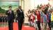 President Obama and President Xi Jinping Greet Children