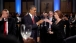 President Barack Obama And Prime Minister Julia Gillard Toast