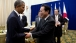 President Obama Bids Farewell To Prime Minister Noda