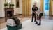 President Obama, Sasha And Malia Check Out Mac The Turkey