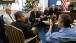 President Obama Listens To Secretary Duncan