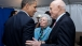 President Obama talks with former Senator John Glenn
