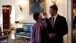 President Obama chats with Senior Advisor Valerie Jarrett