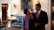 President Obama chats with Senior Advisor Valerie Jarrett