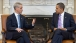 President Barack Obama meets with Chicago Mayor-elect Rahm Emanuel