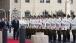 Vice President Joe Biden arrives at Palacio de la Moneda