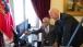 Vice President Joe Biden looks at photos