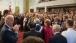 Vice President Joe Biden applauds