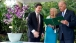 Vice President Joe Biden and Dr. Jill Biden receive a book from Mr. Hong Yuen Poon