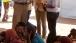 Dr. Jill Biden talks with USAID Administrator Dr. Raj Shah at the Dagahaley Refugee Camp