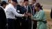Vice President Joe Biden Greets a Mongolian Archer