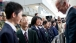 Vice President Joe Biden Greets Students in Sendai