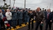 Vice President Joe Biden Arrives at a Homecoming Ceremony for the USS Gettysburg