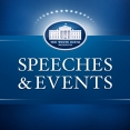 Speeches and Events