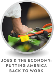 Jobs and the Economy: Putting America Back to Work