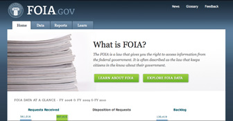 Learn about FOIA