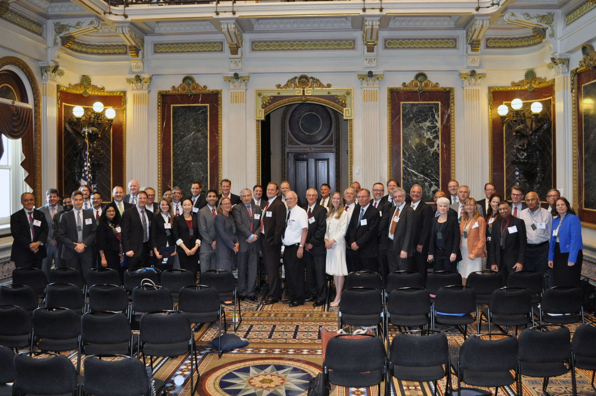 Participants in the White House Forum on Small Business Challenges to Commercializing Nanotechnology. (Photo credit: Lloyd Whitman)